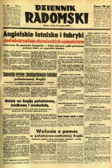 Dziennik Radomski, 1940, R. 1, nr 142