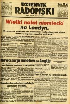 Dziennik Radomski, 1940, R. 1, nr 143