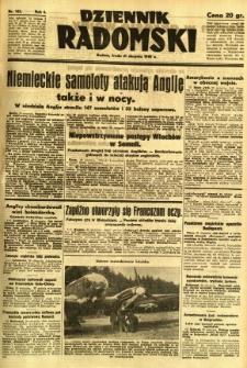 Dziennik Radomski, 1940, R. 1, nr 145