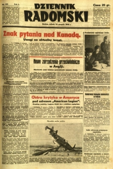 Dziennik Radomski, 1940, R. 1, nr 148
