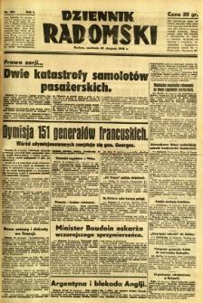 Dziennik Radomski, 1940, R. 1, nr 149