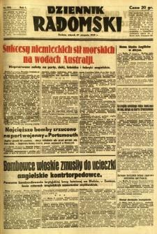 Dziennik Radomski, 1940, R. 1, nr 150