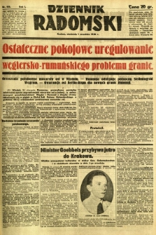 Dziennik Radomski, 1940, R. 1, nr 155