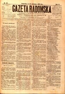 Gazeta Radomska, 1889, R. 6, nr 52