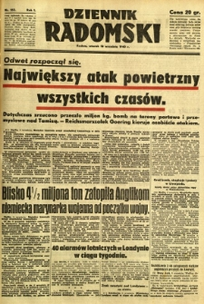 Dziennik Radomski, 1940, R. 1, nr 162
