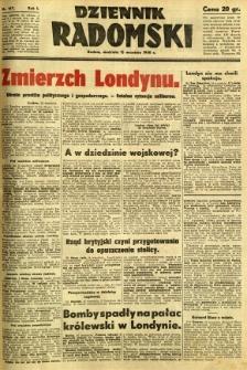 Dziennik Radomski, 1940, R. 1, nr 167