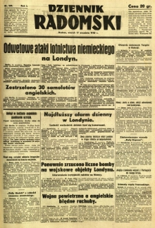 Dziennik Radomski, 1940, R. 1, nr 168