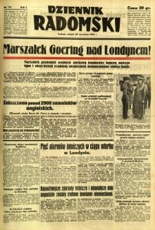 Dziennik Radomski, 1940, R. 1, nr 171