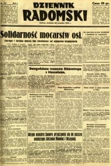 Dziennik Radomski, 1940, R. 1, nr 173