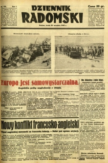 Dziennik Radomski, 1940, R. 1, nr 175
