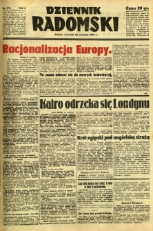 Dziennik Radomski, 1940, R. 1, nr 176