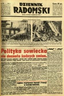 Dziennik Radomski, 1940, R. 1, nr 182