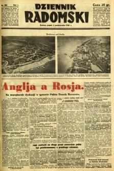 Dziennik Radomski, 1940, R. 1, nr 183
