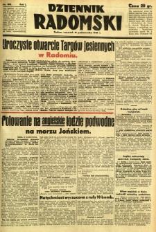 Dziennik Radomski, 1940, R. 1, nr 188