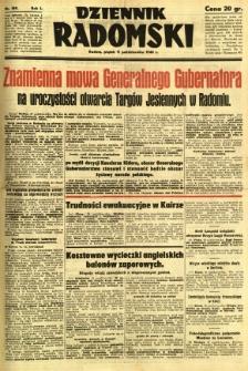 Dziennik Radomski, 1940, R. 1, nr 189