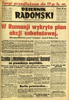 Dziennik Radomski, 1940, R. 1, nr 192