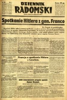Dziennik Radomski, 1940, R. 1, nr 201