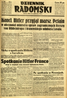 Dziennik Radomski, 1940, R. 1, nr 202