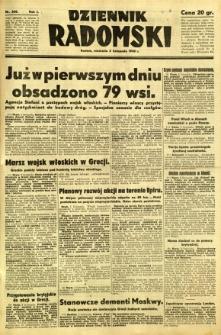 Dziennik Radomski, 1940, R. 1, nr 208