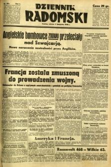 Dziennik Radomski, 1940, R. 1, nr 213