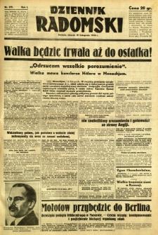 Dziennik Radomski, 1940, R. 1, nr 215