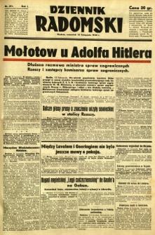 Dziennik Radomski, 1940, R. 1, nr 217