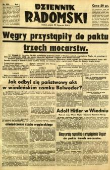 Dziennik Radomski, 1940, R. 1, nr 224