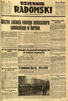 Dziennik Radomski, 1940, R. 1, nr 228