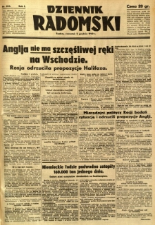 Dziennik Radomski, 1940, R. 1, nr 235
