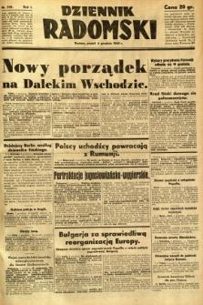Dziennik Radomski, 1940, R. 1, nr 236