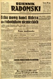 Dziennik Radomski, 1940, R. 1, nr 242