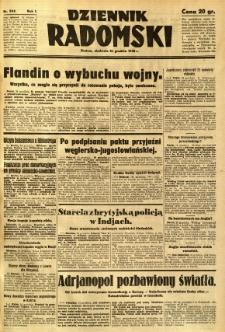 Dziennik Radomski, 1940, R. 1, nr 244