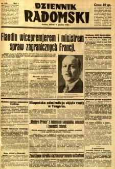 Dziennik Radomski, 1940, R. 1, nr 245