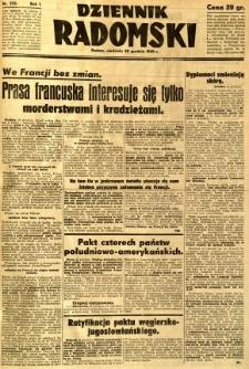 Dziennik Radomski, 1940, R. 1, nr 250