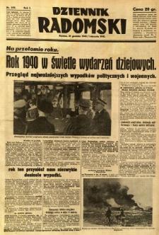 Dziennik Radomski, 1940, R. 1, nr 255