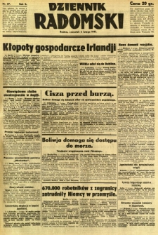 Dziennik Radomski, 1941, R. 2, nr 29