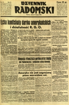 Dziennik Radomski, 1941, R. 2, nr 31