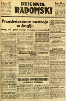 Dziennik Radomski, 1941, R. 2, nr 49