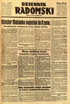 Dziennik Radomski, 1941, R. 2, nr 75
