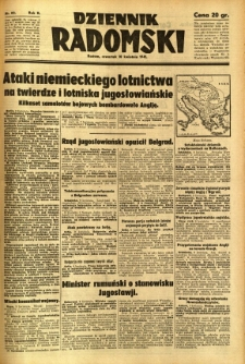 Dziennik Radomski, 1941, R. 2, nr 83