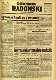 Dziennik Radomski, 1941, R. 2, nr 85
