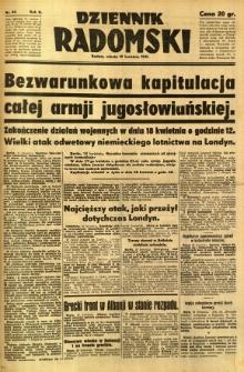 Dziennik Radomski, 1941, R. 2, nr 89