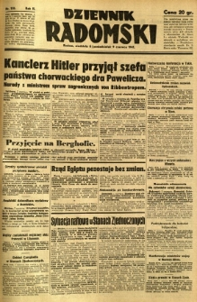 Dziennik Radomski, 1941, R. 2, nr 130
