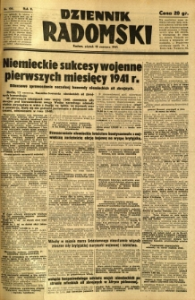 Dziennik Radomski, 1941, R. 2, nr 134