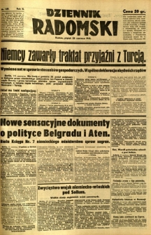 Dziennik Radomski, 1941, R. 2, nr 140