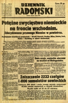 Dziennik Radomski, 1941, R. 2, nr 149