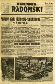 Dziennik Radomski, 1941, R. 2, nr 156