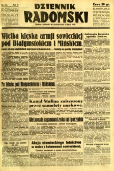 Dziennik Radomski, 1941, R. 2, nr 160