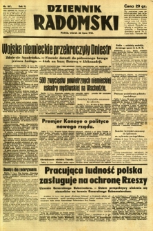 Dziennik Radomski, 1941, R. 2, nr 167