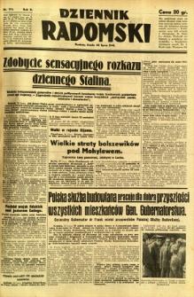 Dziennik Radomski, 1941, R. 2, nr 174